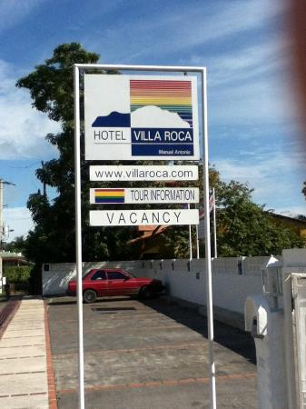 Hotel Villa Roca: We've arrived!