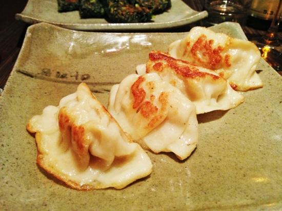 Arirang : These are the Mandoo, which are fried pork dumplings. Delicious.