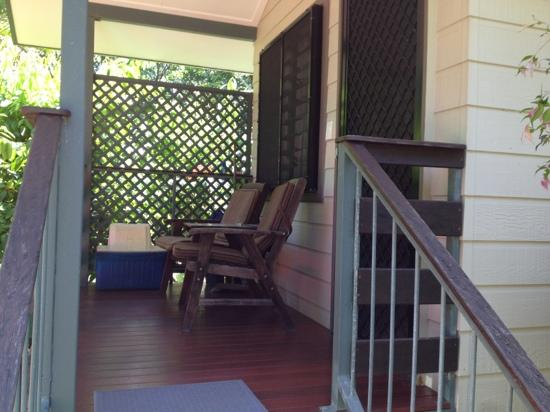 Thornton Beach Bungalows: The front of our bungalow!