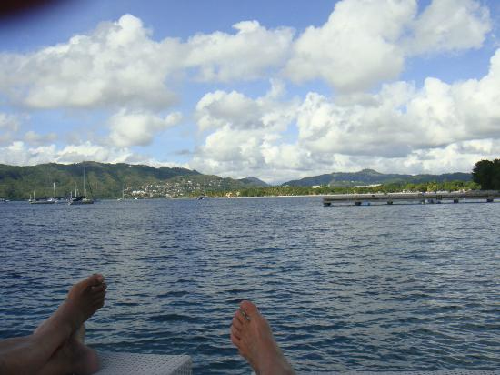 La Dunette: View from the deckchair, while napping...