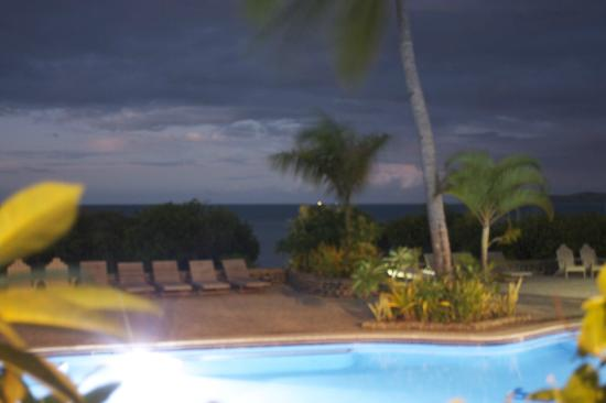 Volivoli Beach Resort Fiji: Night Shot