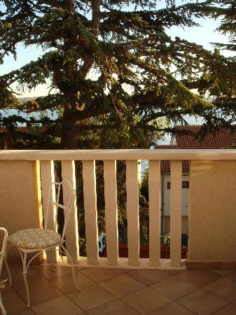 "Grand Hotel Dramalj: ""Seaview"" from the balcony"