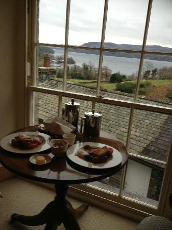 The Samling Hotel : Wedding breakfast with a view