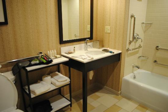 The Cheshire: Large Bathroom in the Room