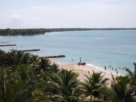 Decameron Baru: Vista a la playa