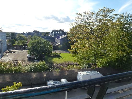 Great Western Hotel Aberdeen: View from the balcony