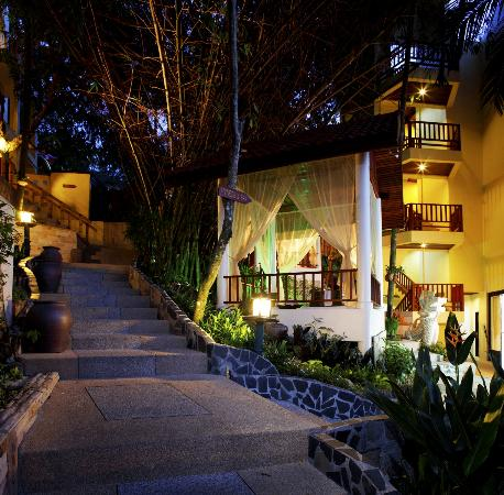 Club Bamboo Boutique Resort and Spa: Near the spa area