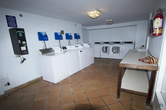 The Condado Plaza Hilton: Self-serve laundromat