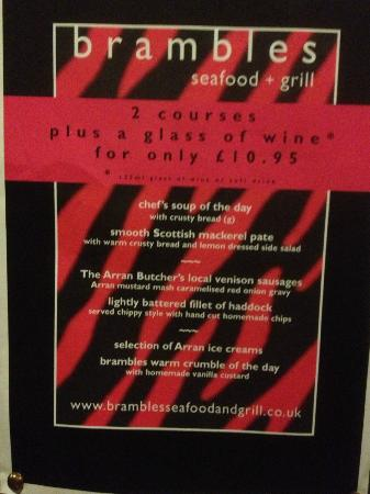 Brambles Seafood + Grill: Offer Not Available