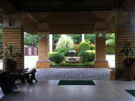Amorita Resort: lobby/entrace