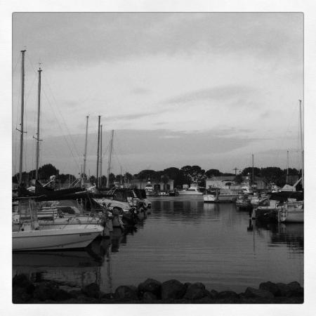 The Dana on Mission Bay, BW Premier Collection: My Instagram shot of the marina next to the hotel.