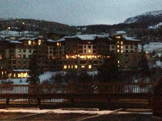 Viceroy Snowmass: View from Grocery Store