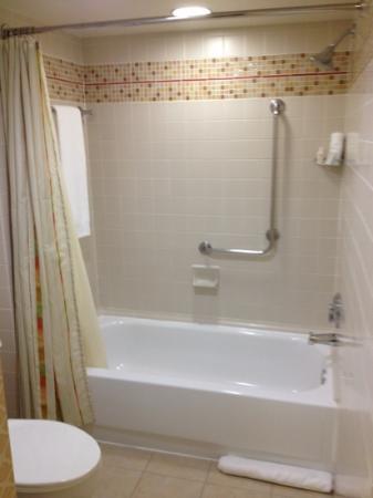 Renaissance Orlando Airport Hotel: bathtub