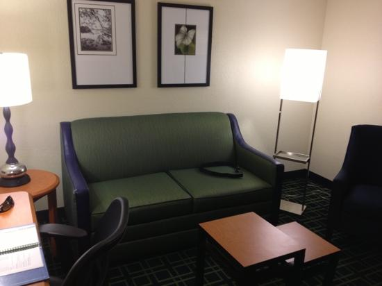 Fairfield Inn & Suites Orlando Lake Buena Vista: sofa