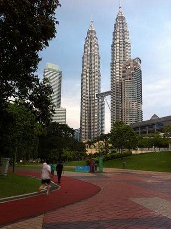 Centre ville de Kuala Lumpur