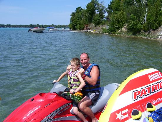 Torch Lake Bed & Breakfast: Rent a Jet Ski