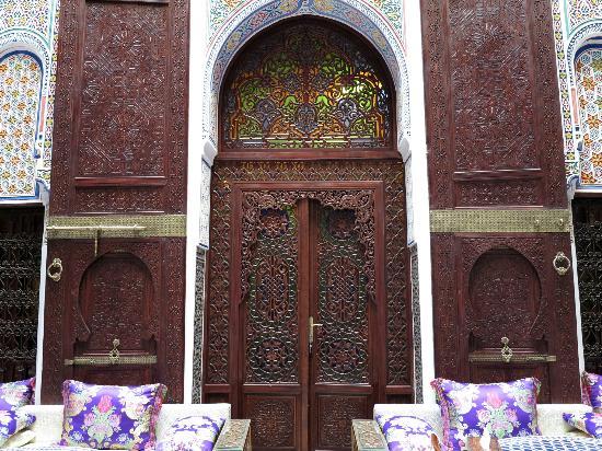 Riad Rcif: Puerta de la habitación