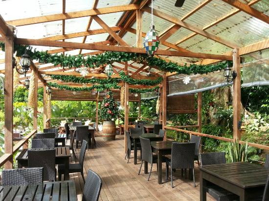 Basaga Holiday Residences: new wing dinning area