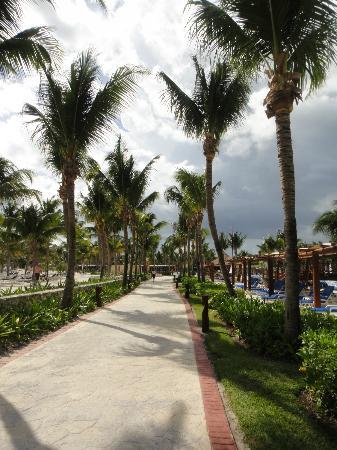 Barcelo Maya Caribe: Walkway