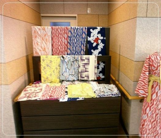 Hotel Grand Tencoo : yukata