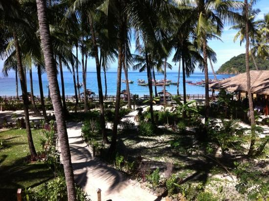 Crescent Cove Resort : view from balcony