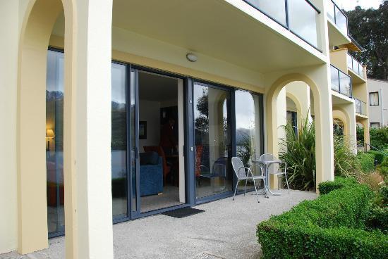 Villa Del Lago: Personal deck area