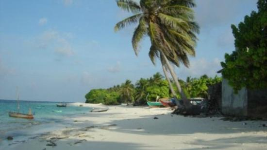 Hulhumale Inn: Picnic Island Beach