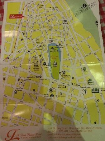 Tu Linh Palace Hotel: hotel map