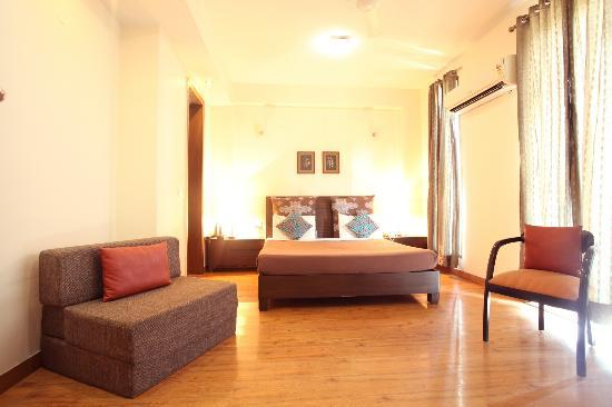 The Perch Service Apartments: Studio apartment - Bedroom