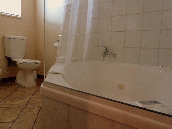 Tudor Lodge Motel: Spa bath