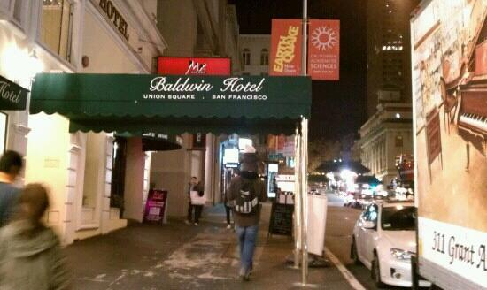 Baldwin Hotel: outside