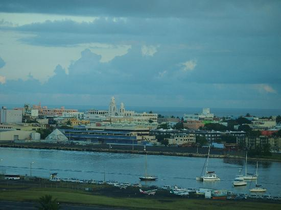 Sheraton Puerto Rico Hotel & Casino: View of Old San Juan from the room