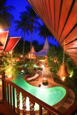 Coco Palace Resort: View from Rose Room