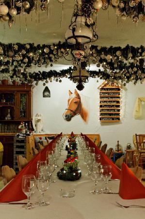 Haflingerstubli: Weihnachtsfeier 2012
