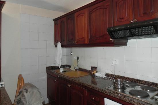 أبارتامينتوس لوس كاردونيس: кухня 