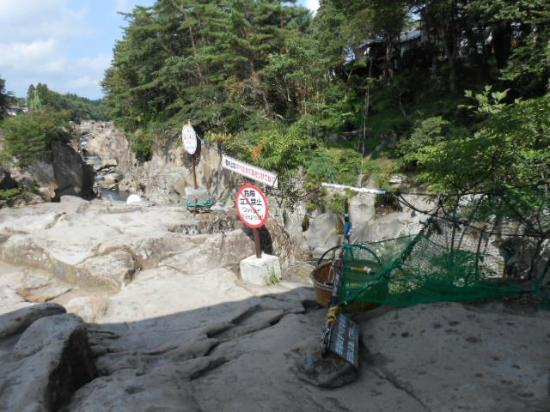 Keibikei River Kakko-Dango: 風景