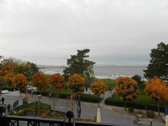 Grand Hotel Binz: Blick aus dem Fenster