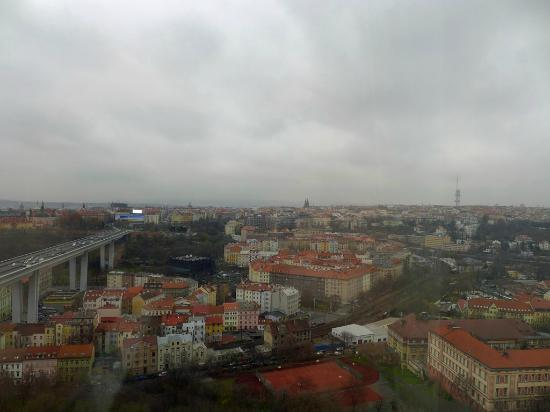 Corinthia Hotel Prague: View from 16th floor