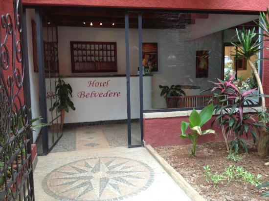 Hotel Belvedere: acceuil