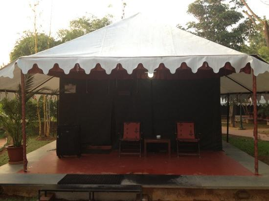Olde Bangalore Hotel & Resort: our tent