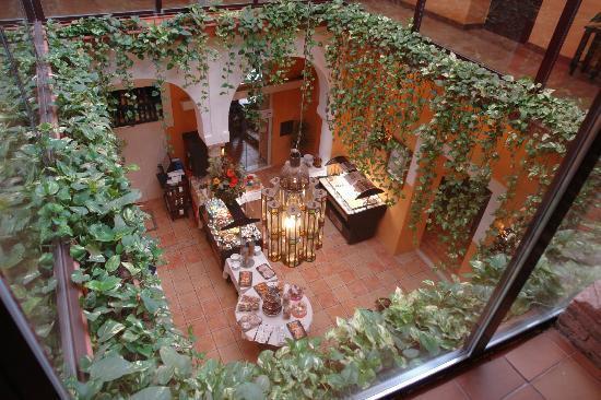 El Rey Moro Hotel Boutique Sevilla: Restaurante del hotel rey del moro