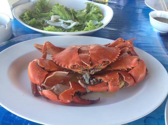 Kruvit Raft: Steamed crab