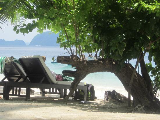 El Nido Resorts Miniloc Island: Beautiful relaxing view!