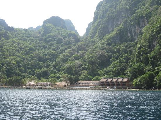El Nido Resorts Miniloc Island: The breathtaking view of the resort.
