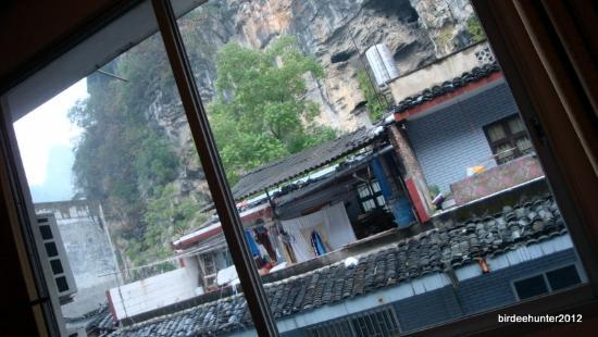 West Lily Hotel: The karsts viewed from the room