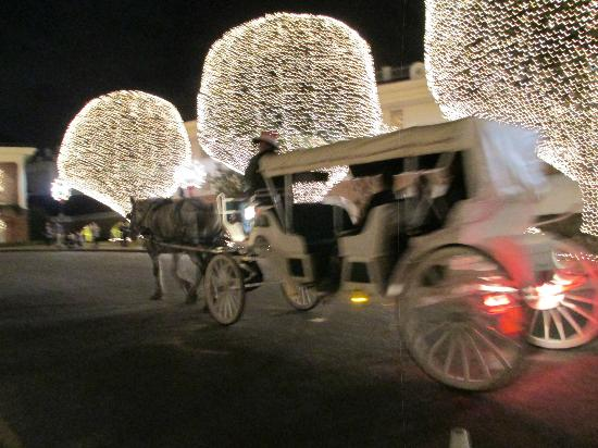 Gaylord Opryland Resort & Convention Center: Horse & Lights