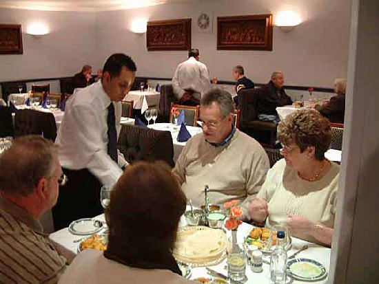 The restaurant at Prince of India, has excellent staff!