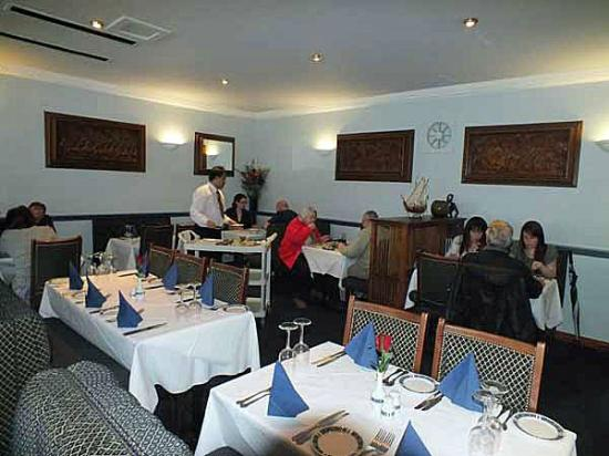 Prince of India: The restaurant