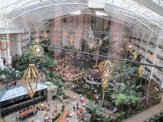 Gaylord Opryland Resort & Convention Center: from our room