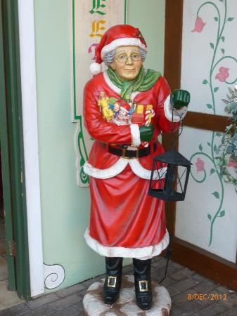Mother Christmas.Mother Christmas Decorating Ginger Biscuits Picture Of